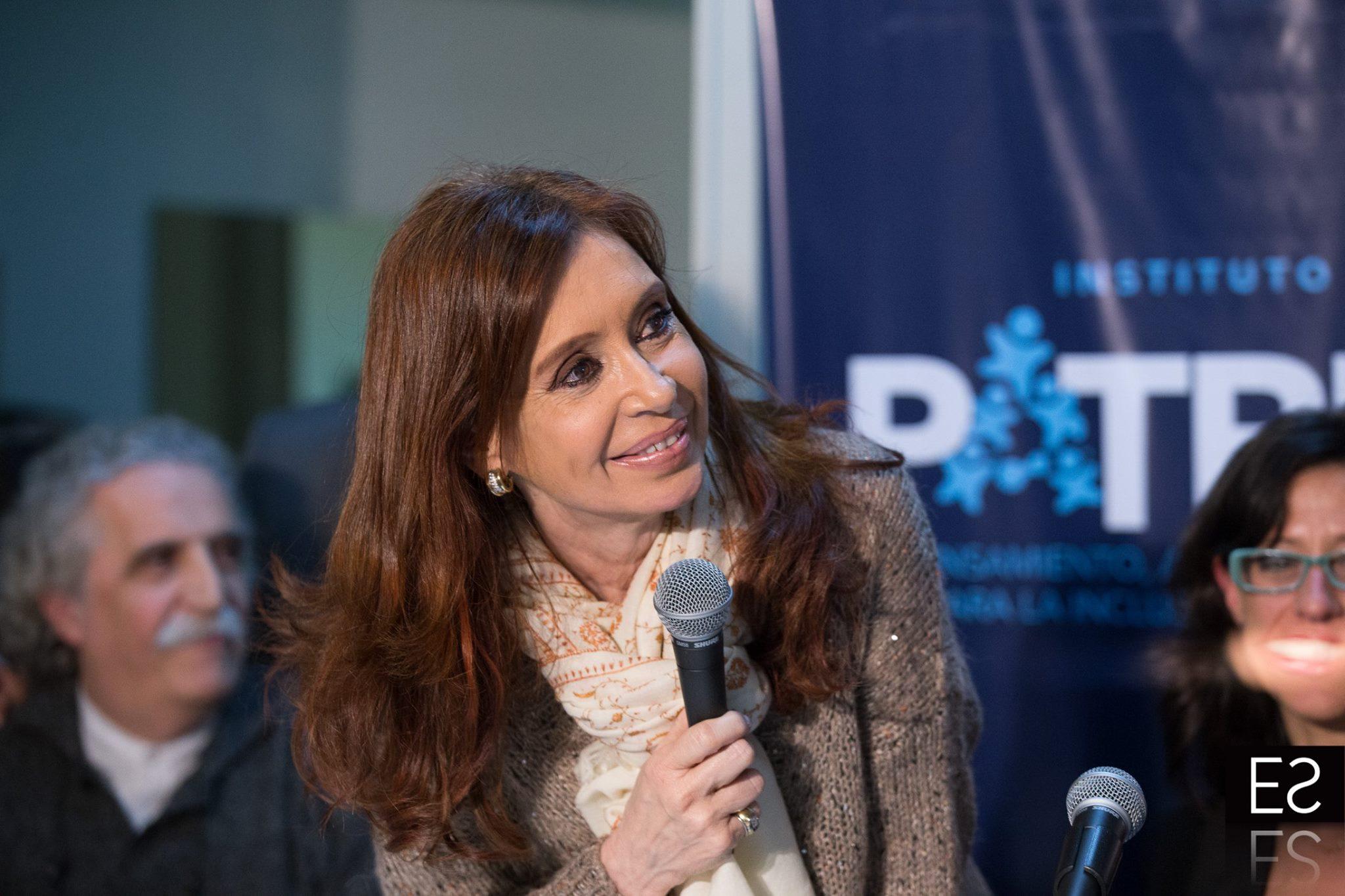 Cristina Fernández de Kirchner en la presentación de la Revista Independencias