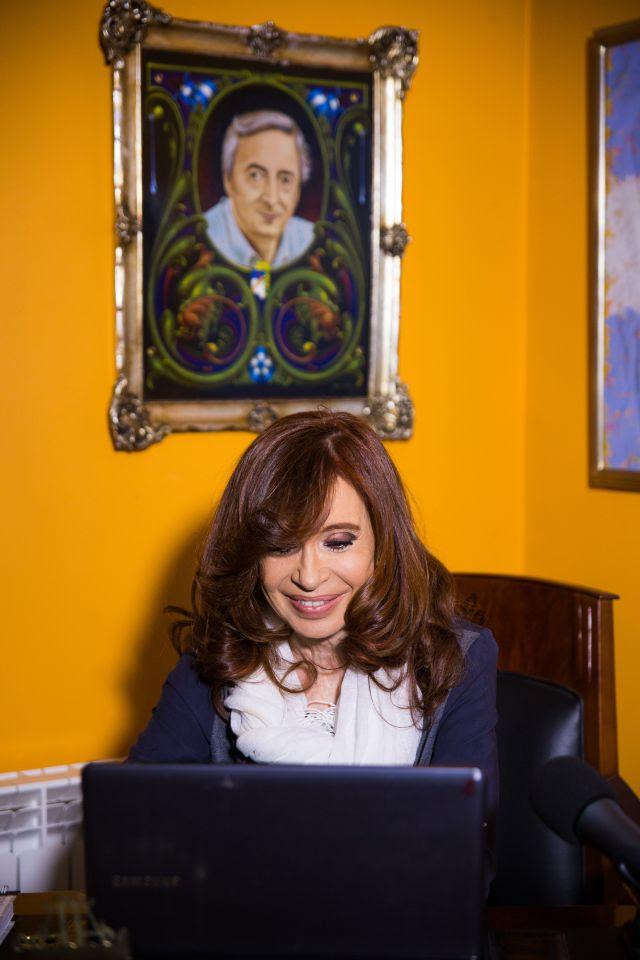 """Cristina Kirchner: """"Les quieren arrebatar el derecho a ser iguales y para eso necesitan tener a Milagro presa""""."""