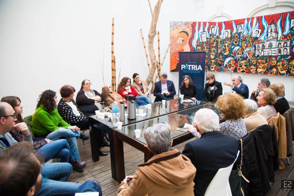 El Instituto recibió a los organismos de Derechos Humanos