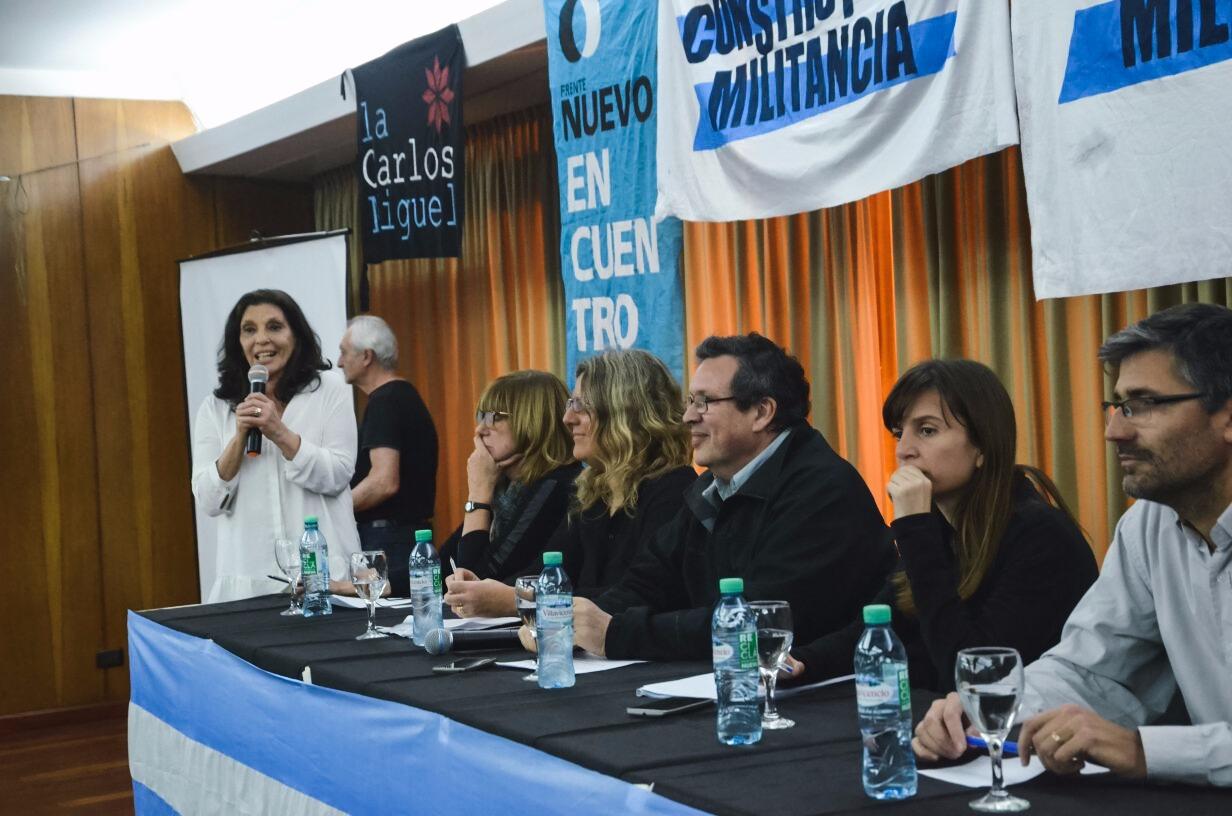 El PATRIA encabezó un acto en Mar del Plata
