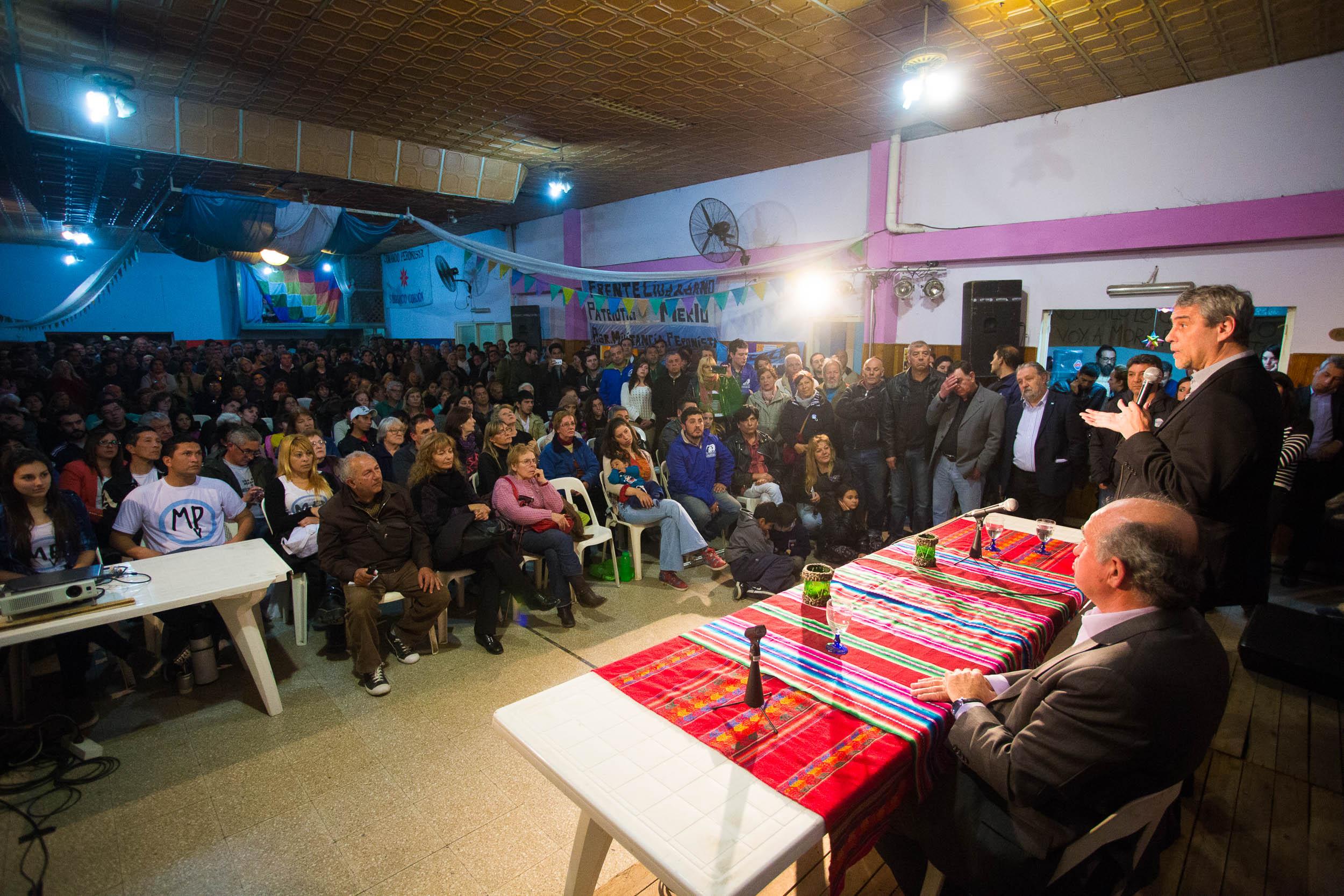 El Instituto Patria se presentó en Merlo