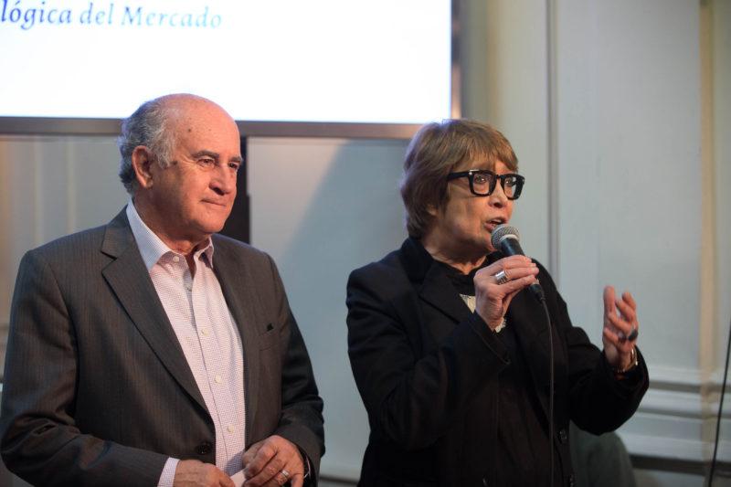 Oscar Parrilli y Teresa Parodi