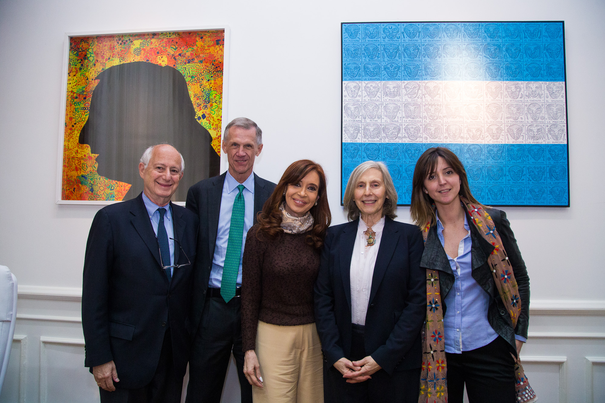 Cristina Kirchner con la New School University