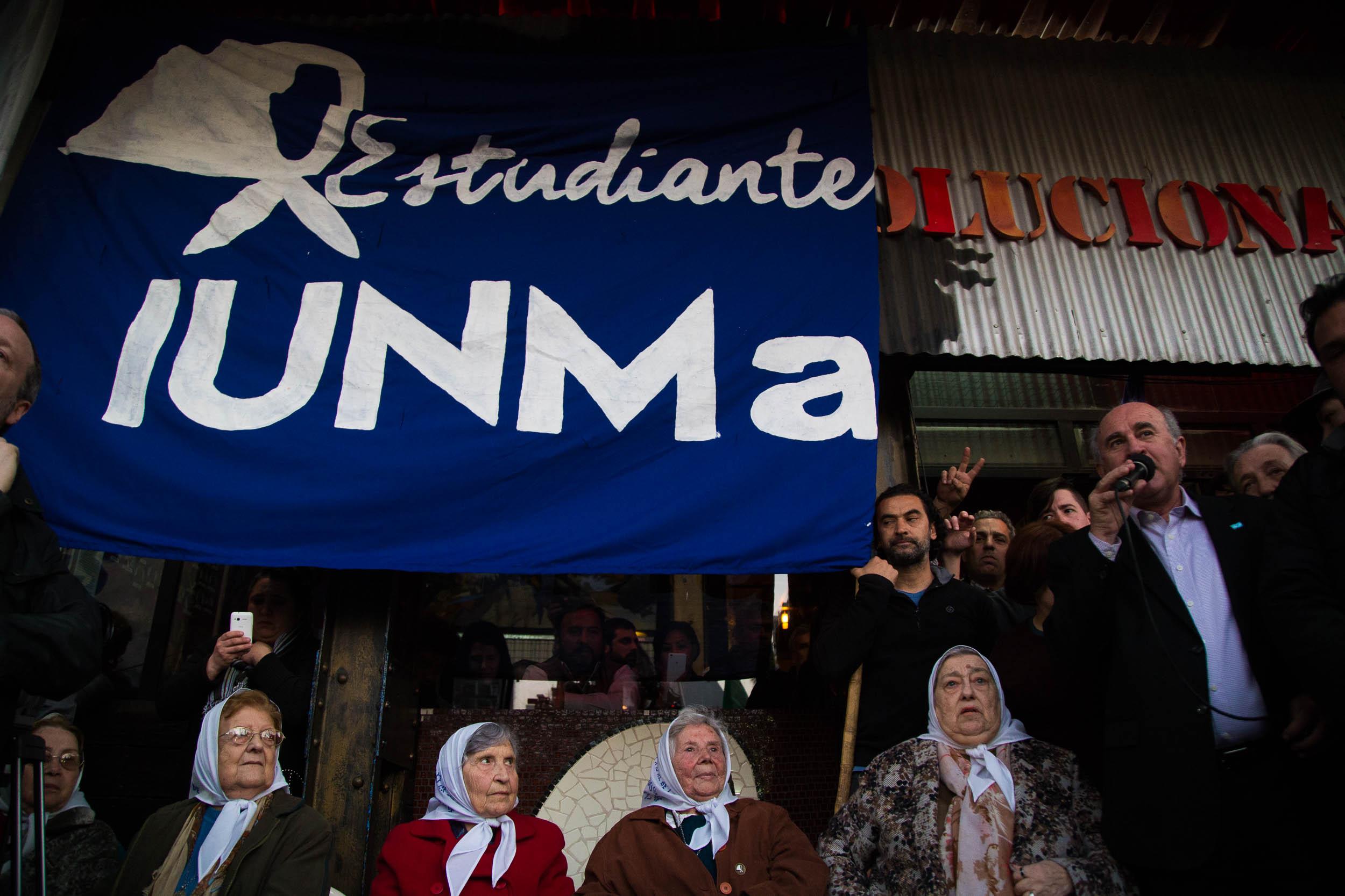 """Oscar Parrilli: """"Hay un plan para encarcelar a los militantes populares""""."""