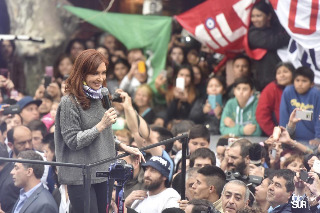 Cristina Kirchner en la Villa 31: «resistir para avanzar»