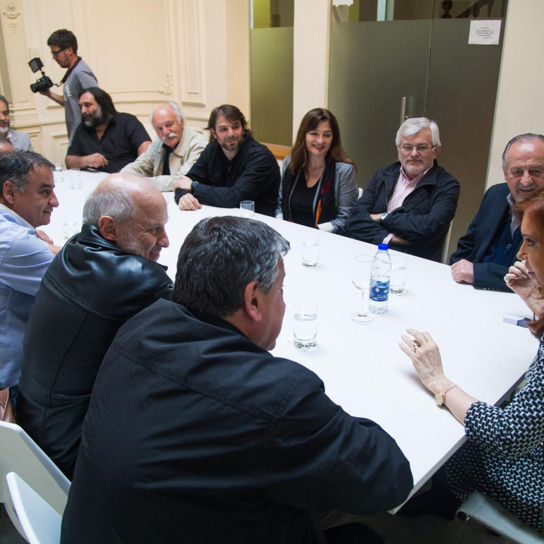 CFK con la CTA de los Trabajadores