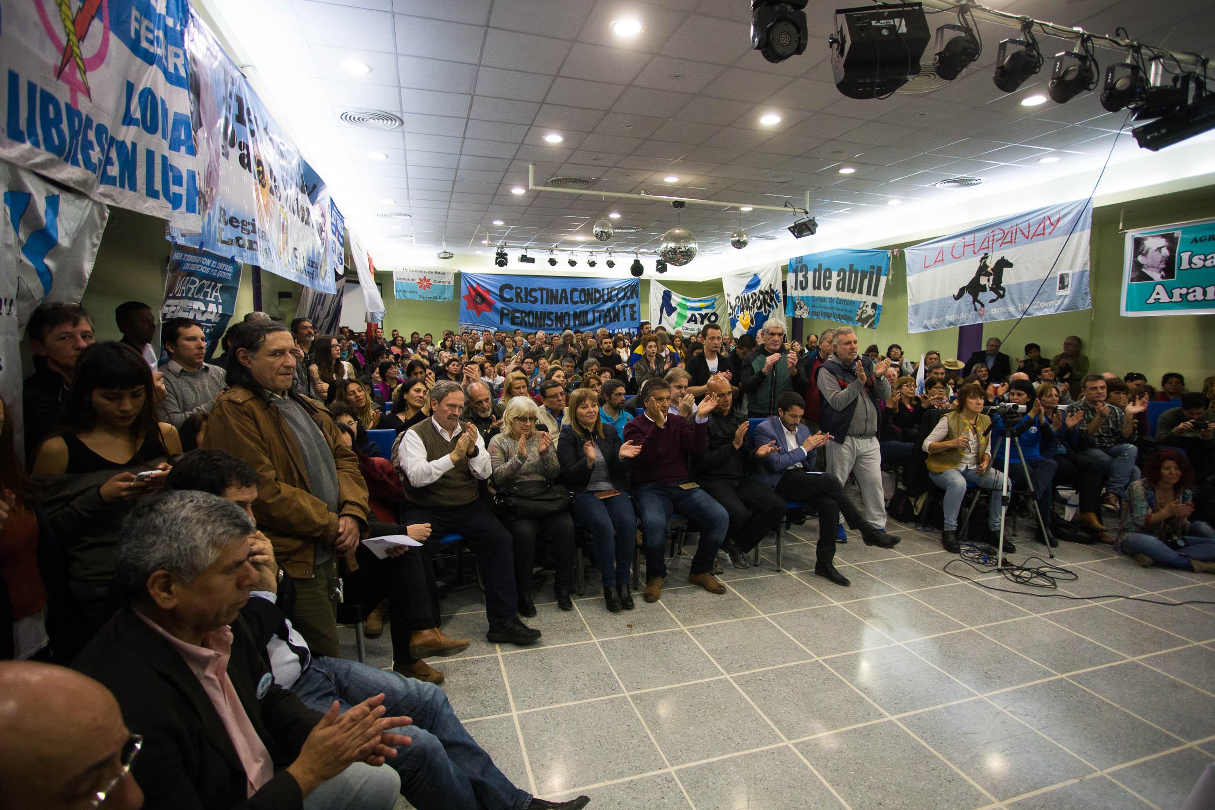 El Instituto PATRIA se presentó en Lomas de Zamora
