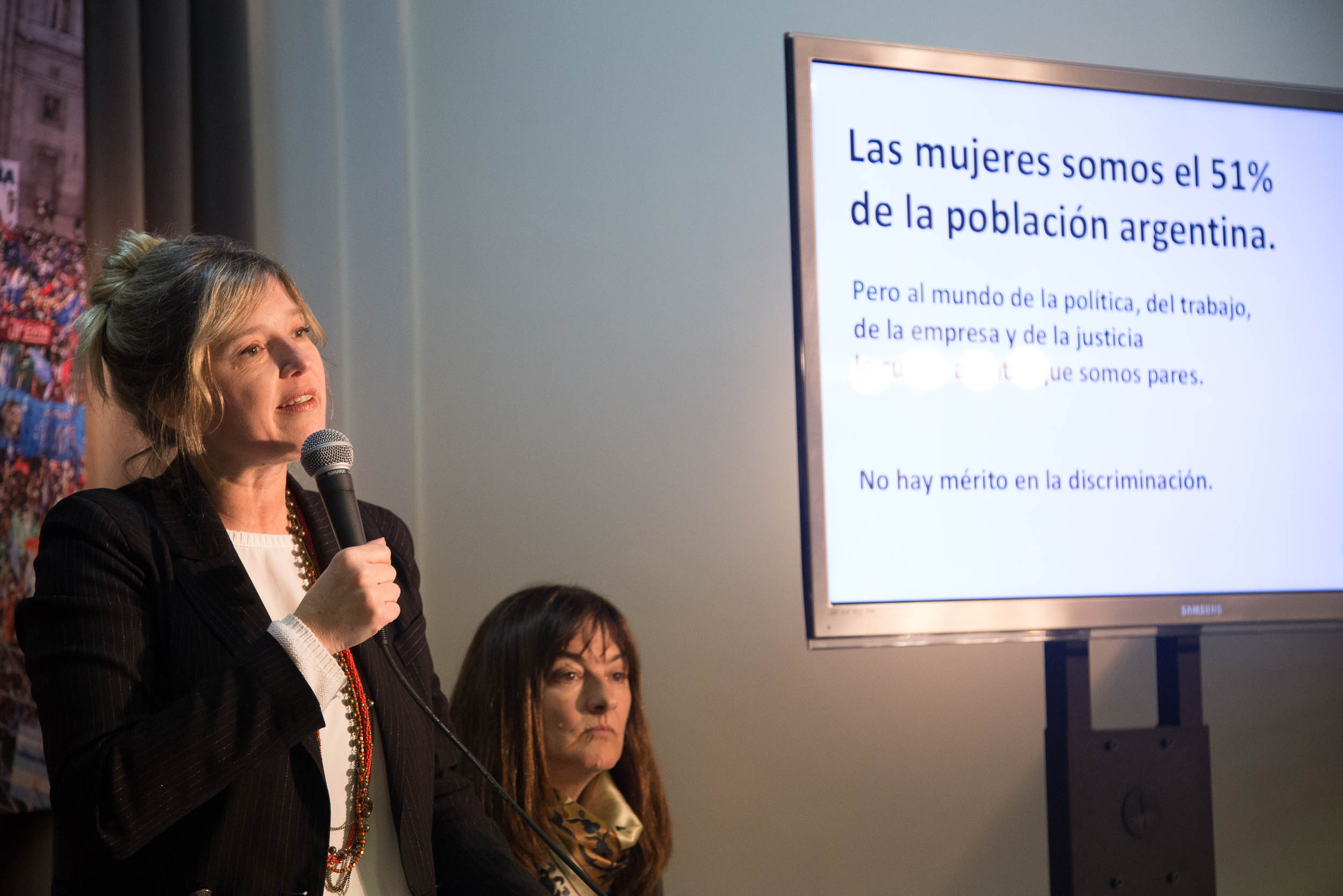 """Referentes sociales y de la política disertaron sobre la Ley """"Una y Uno"""" en el PATRIA"""