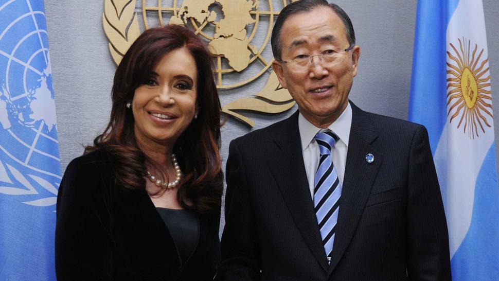 Correo de Cristina Fernández de Kirchner al Sr. Ban Ki-moon, Secretario General de ONU en el marco de la Resolución 68/304 de la AGNU – Procesos de reestructuración de deudas soberanas