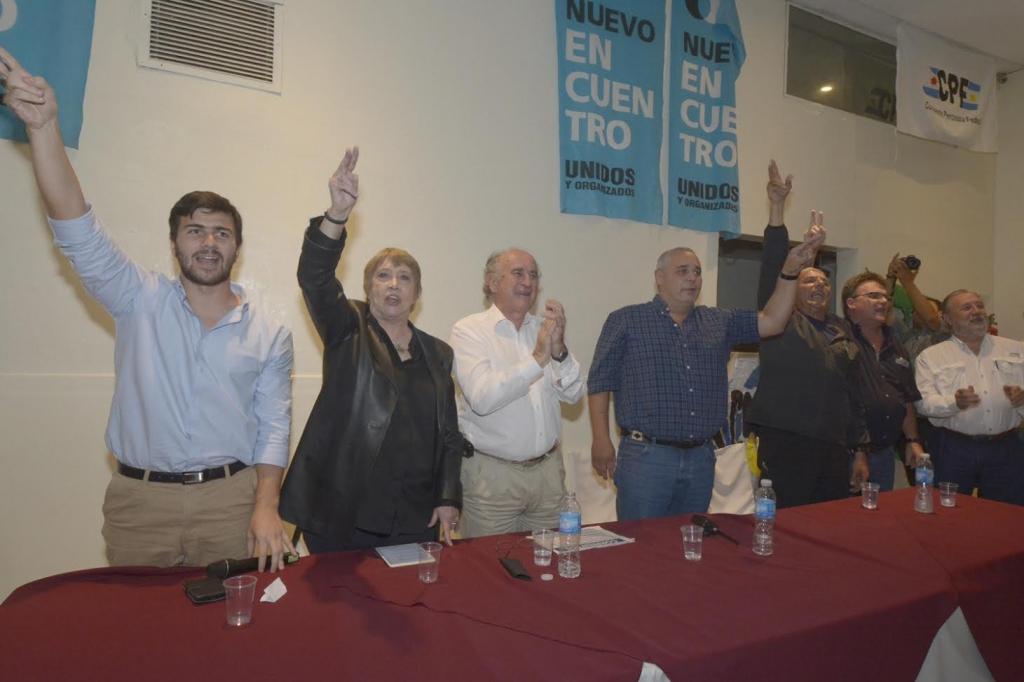 Oscar Parrilli y Teresa Parodi presentaron al Instituto PATRIA en Corrientes