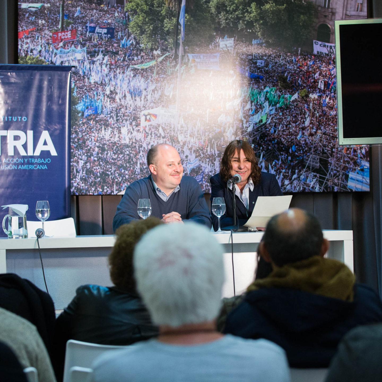 Se presentó el libro «El Poeta de las Cumbres. Vida política y militante de Olegario Víctor Andrade»