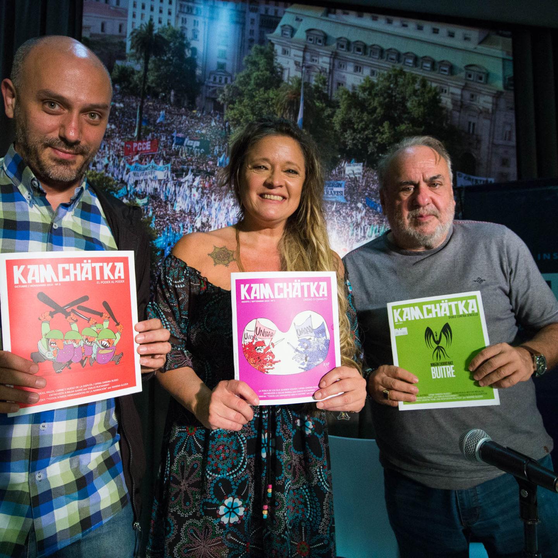 La Revista Kamchatka presentó su Nº 3 en el PATRIA