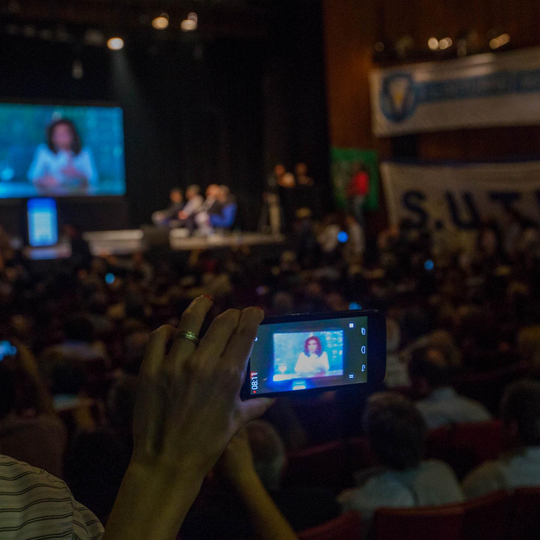 Cristina Kirchner habló en el Día de la Lealtad