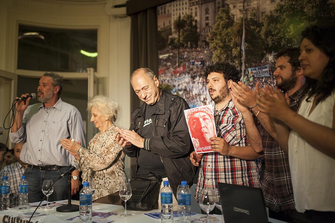 Hamartia presentó su nueva revista y la gran protagonista fue Milagro Sala