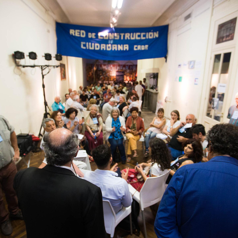 La Red de Construcción Ciudadana se reunió en el Instituto PATRIA