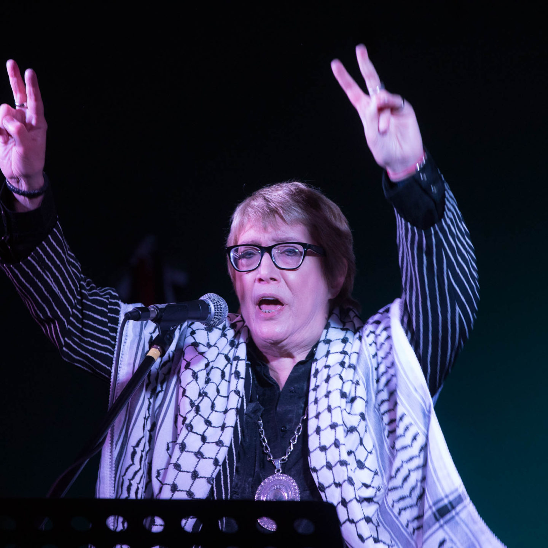 Cierre de la semana «Palestina es Patria» con recital de Teresa Parodi