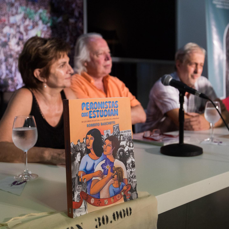 "Roberto Baschetti presentó su último libro ""Peronistas que estudian"""