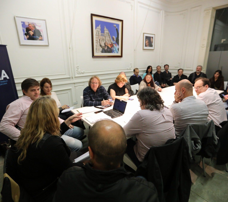 Se reunió la Comisión de Empresarios nacionales