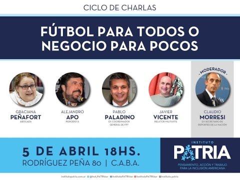 [Video] Fútbol para Todos o Negocio para Pocos