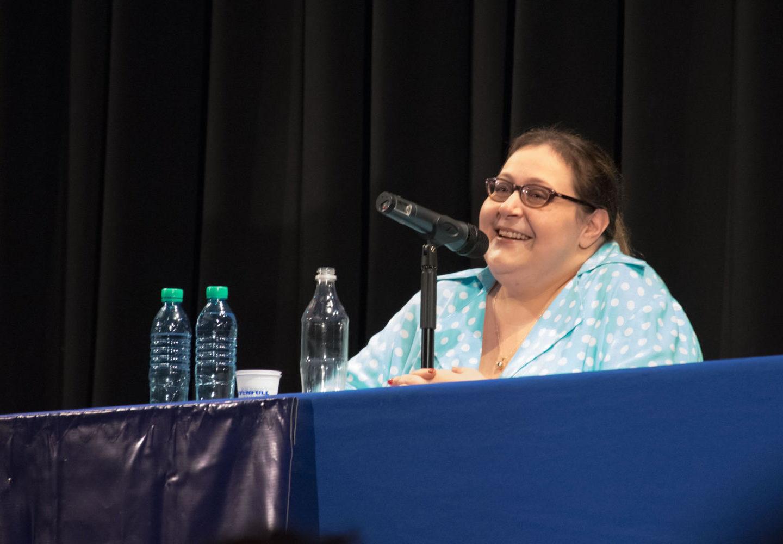 Graciana Peñafort en el Curso de Formación Política