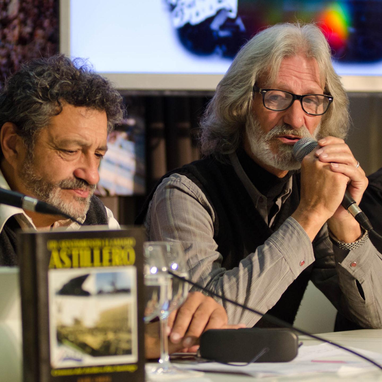 Se presentó el libro «Un sentimiento llamado astillero» de Raúl Corzo