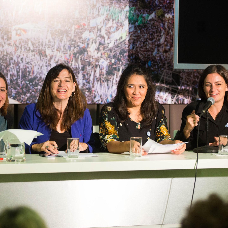 """La Comisión de Mujeres del Instituto Patria realizó la 3ª charla del ciclo """"Mujeres frente al ajuste"""""""