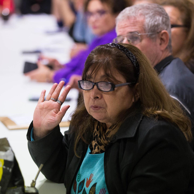 Reunión de la Comisión de defensa de los derechos de adultos mayores