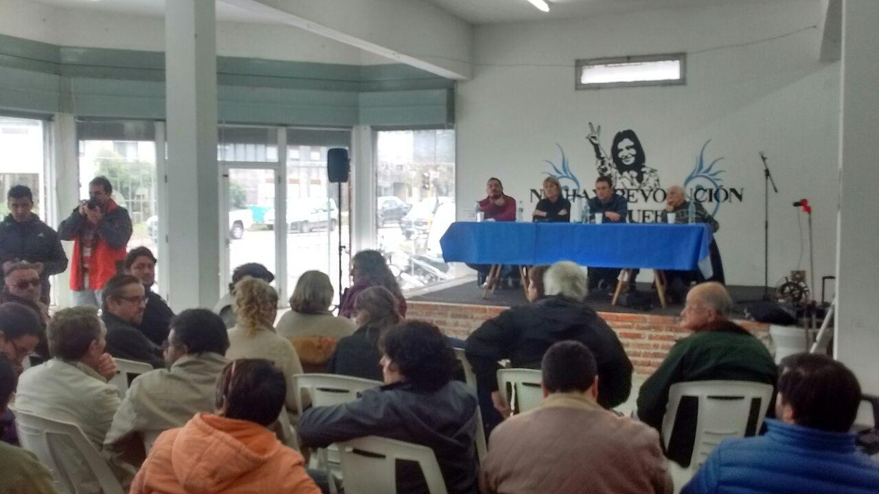La Comisión Estado y Administración Pública estuvo en Veinticinco de Mayo