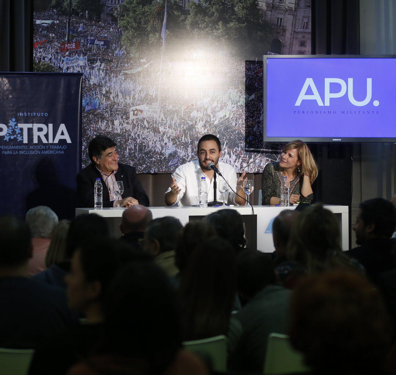 La Paco Urondo presentó su nuevo portal en el Instituto PATRIA