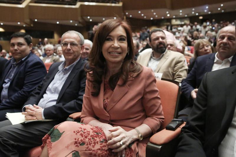 """CFK en Atenas, conferencia sobre """"Capitalismo y Neoliberalismo. La crisis democrática. La experiencia Suramericana"""""""