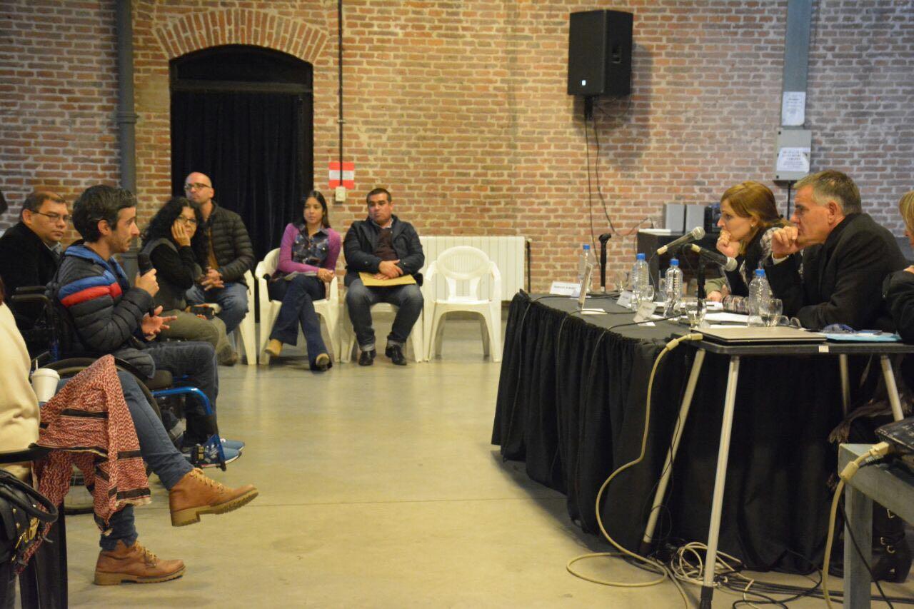 Se presentó la Comisión por los Derechos de las Personas con Discapacidad del Instituto Patria