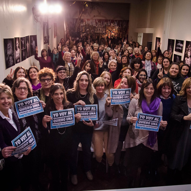 """Presentación del Seminario """"Feminismo y peronismo: la revolución para una sociedad más justa e igualitaria"""""""