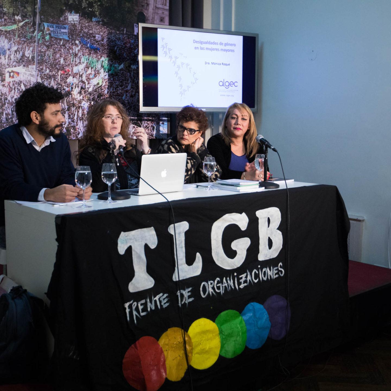 """Charla-debate """"Género, diversidad sexual y vejez"""""""
