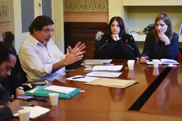 Reunión de la Comisión de Educación con legisladores nacionales