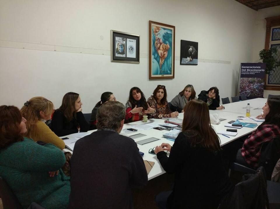 4 ejes de trabajo de la Comisión  de Inclusión y Desarrollo Social Instituto PATRIA