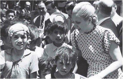 Eva Perón, voz y acción por la inclusión