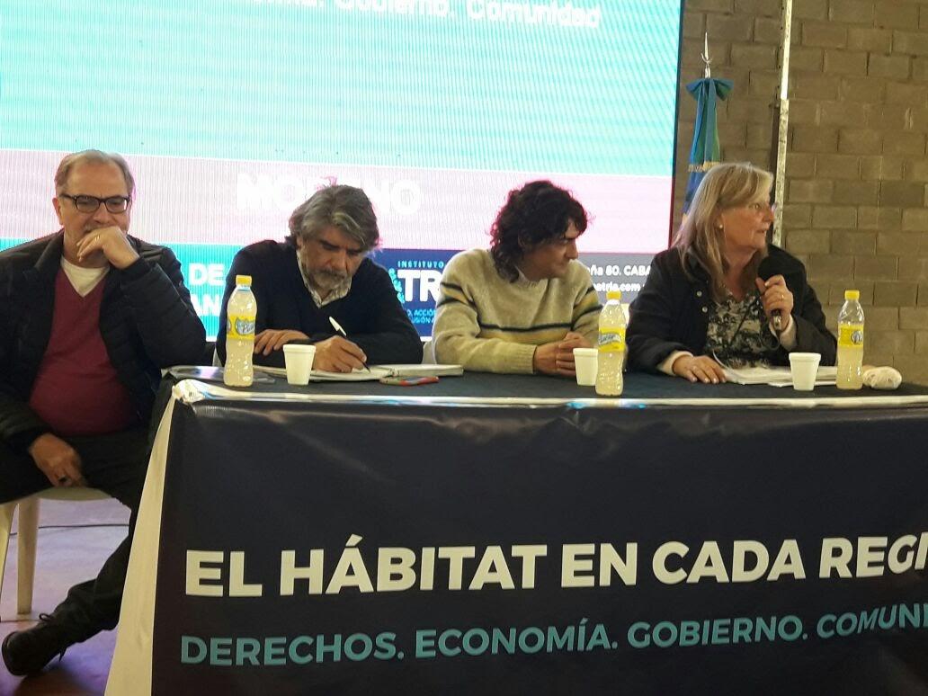 """Encuentro """"El Hábitat en el Oeste del conurbano bonaerense"""""""