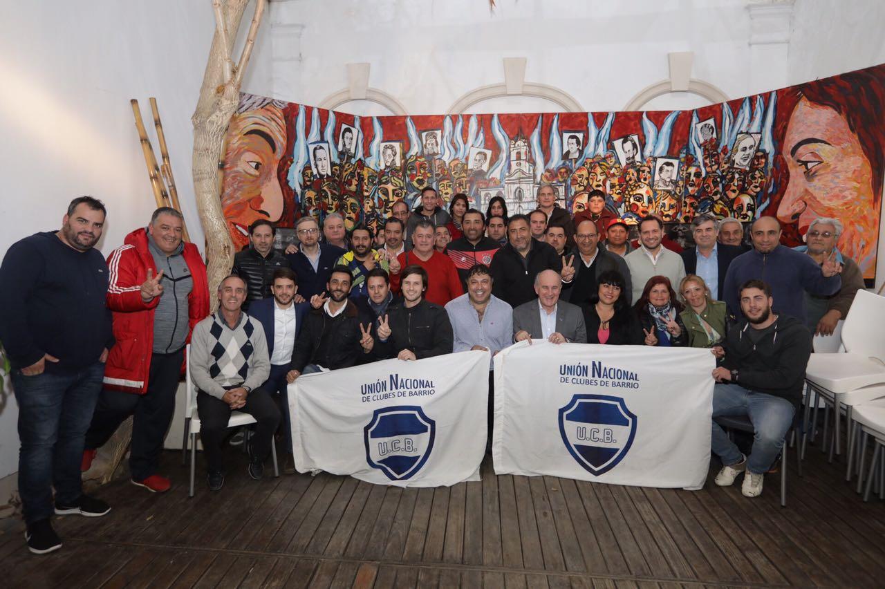La Unión Nacional de Clubes de Barrio en el Instituto Patria