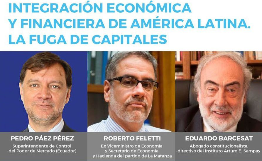 [Video] Integración económica y financiera de América Latina. La fuga de capitales