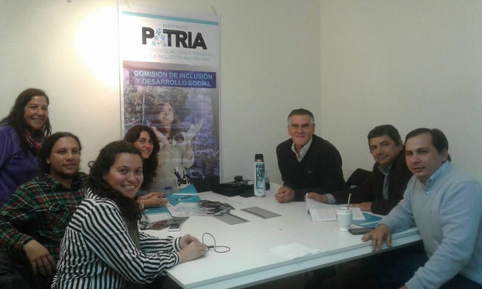 Se incorporan referentes del Chaco a la Comisión de Inclusión y Desarrollo Social del Instituto PATRIA