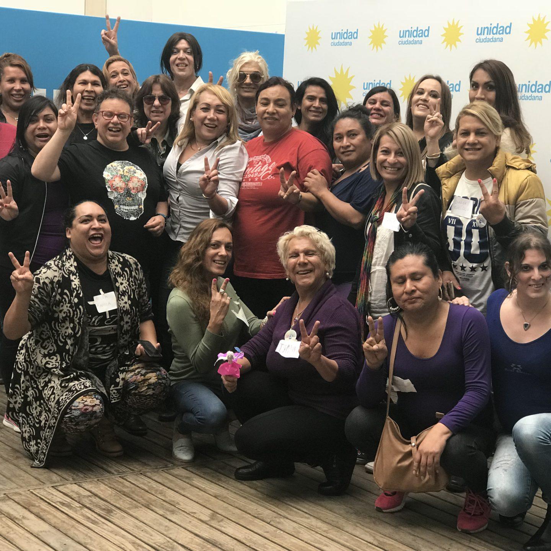 Comenzó la primera Escuela de Formación Política de trans y travestis en Argentina