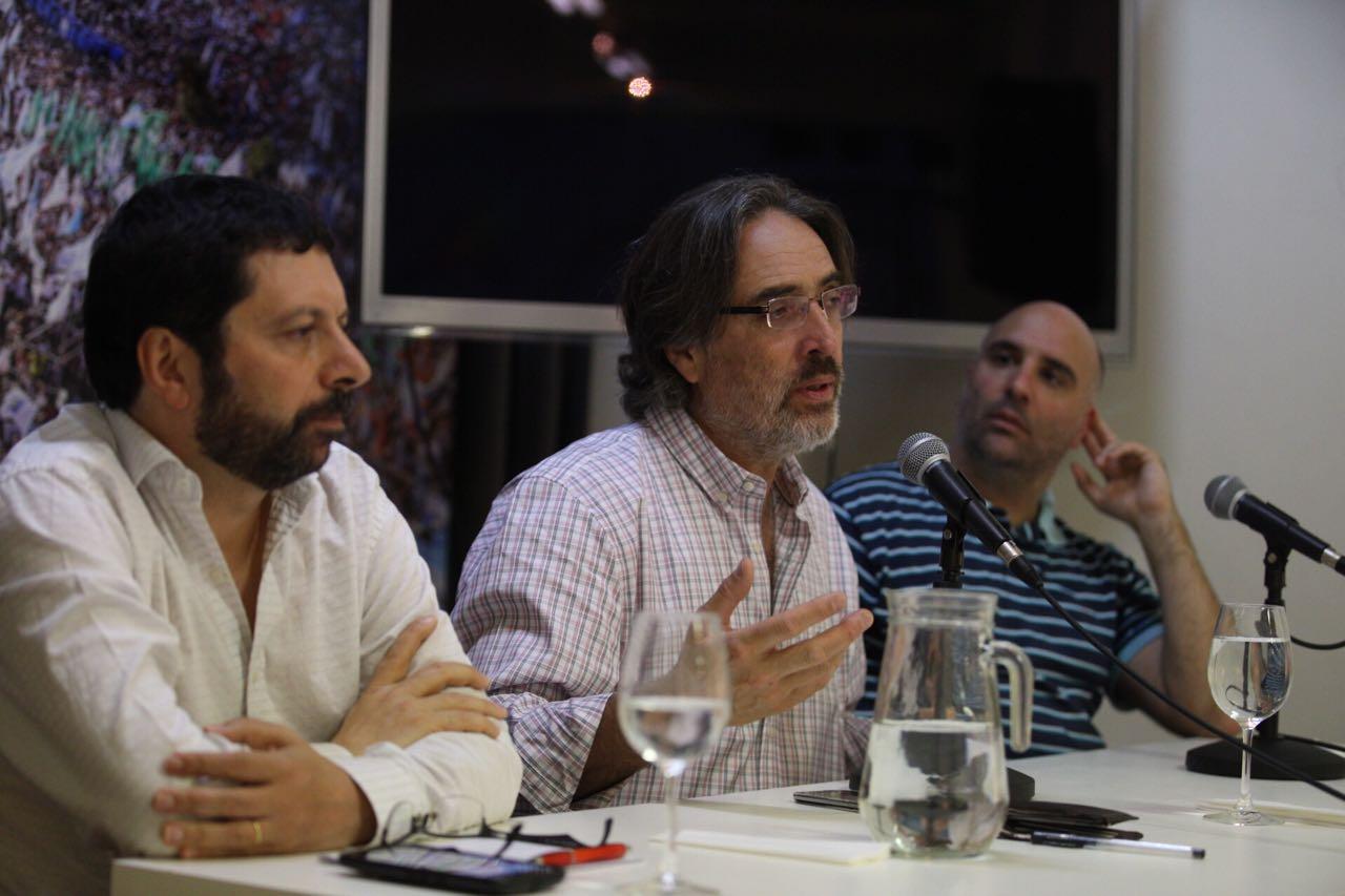 """Presentación de """"La recaída neoliberal"""" de Claudio Scaletta"""