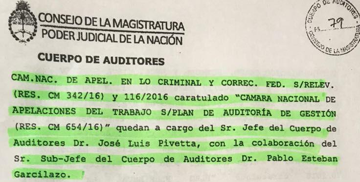 Denuncia de la Corriente de Abogados Laboralistas 7 de Julio contra Angelici