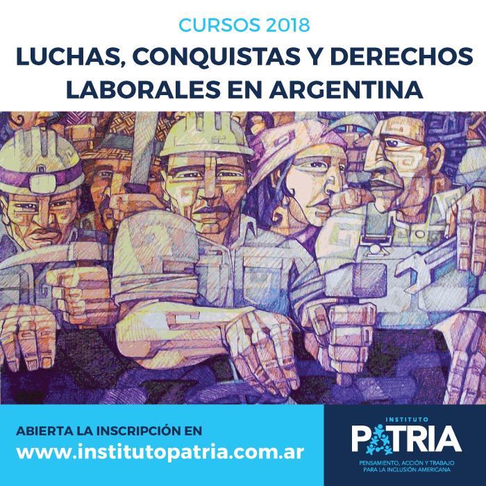 Curso de formación «Luchas, conquistas y derechos laborales en Argentina»