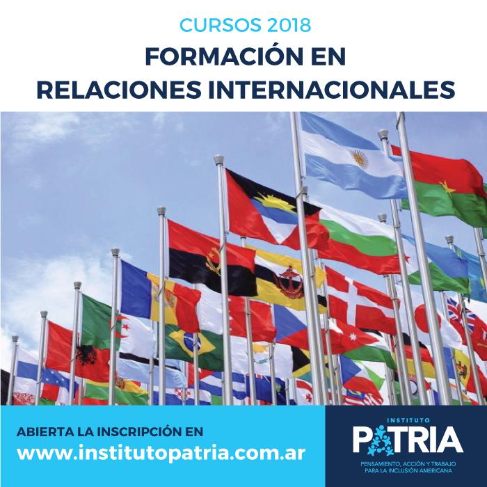 Curso de Formación en Relaciones Internacionales