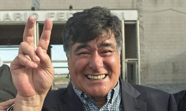 Carlos Zannini recuperó su libertad