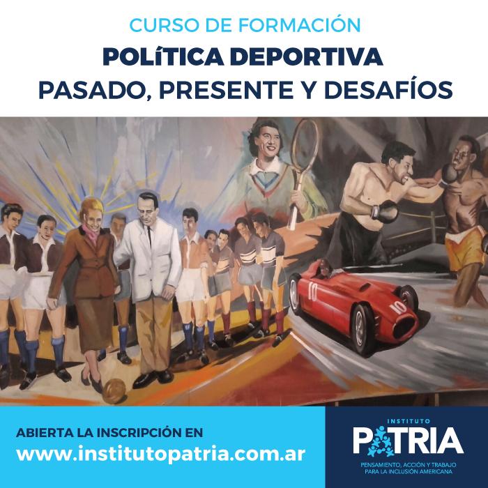 Curso Política deportiva: pasado, presente y desafíos