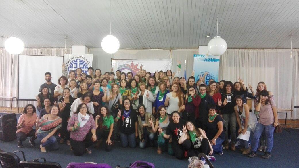 Cierre del Seminario Peronismo y Feminismo en Neuquén