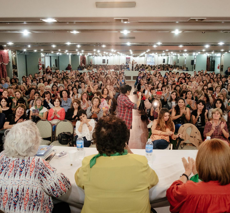 Con más de 600 participantes se realizó el tercer encuentro sobre Peronismo y Feminismo 2018