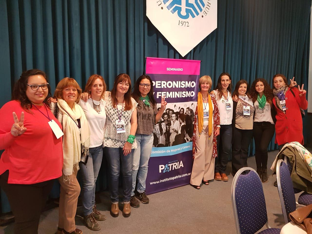 Seminario «Peronismo y Feminismo» en Neuquén